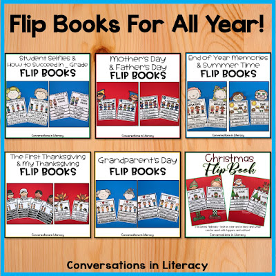 Flip Books for the holidays and seasonal times