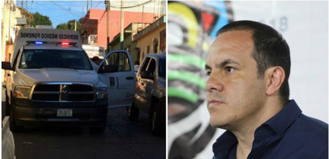 """Dejan los """"BELTRAN LEYVA""""  narcomensaje para Cuahutemoc Blanco en cuerpo desmembrado"""