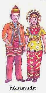 Baju Pengantin Adat Kalimantan Selatan