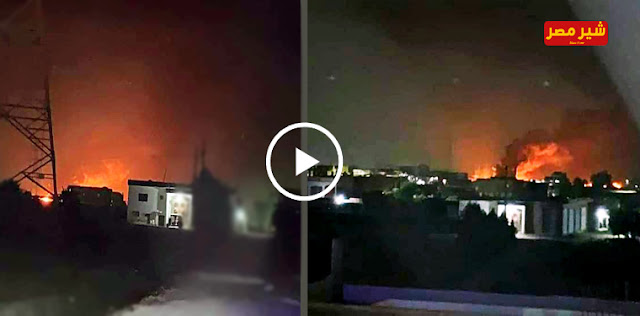 فيديو حريق ايتاي البارود فى البحيرة - البحيرة الان  - حريق ايتاي البارود - مصابين حريق ايتاي البارود