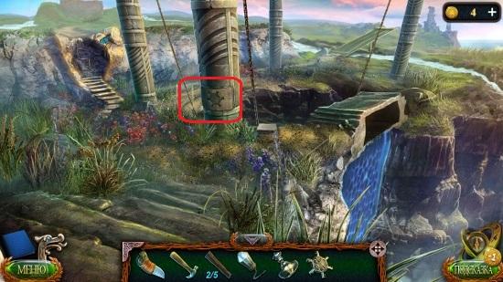 паз для ключа на столбе в игре затерянные земли 4 скиталец