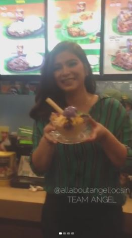 Fans And Halo-Halo Lovers Celebrates The Mang Inasal National Halo-Halo Day With Angel Locsin
