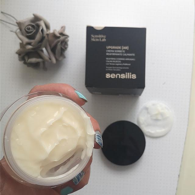 textura de la crema