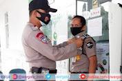Sat Binmas Polres Pinrang Sidak Kesiapan Satpam di Lingkungan Kantor BUMN dan Perbankan