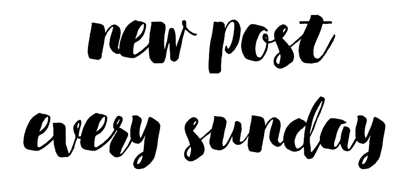new post every sunday