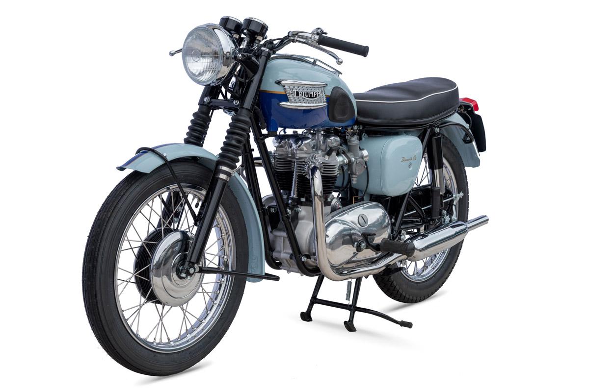 1960 Triumph T120 Bonneville For Sale At Coys For Gbp 14000