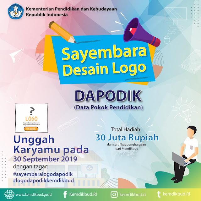 Sayembara Desain Logo Dapodik Kemendikbud 2019