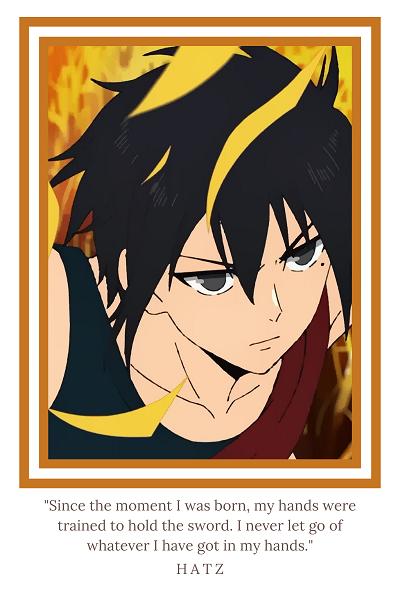 "Tower of God anime ""Hatz"""