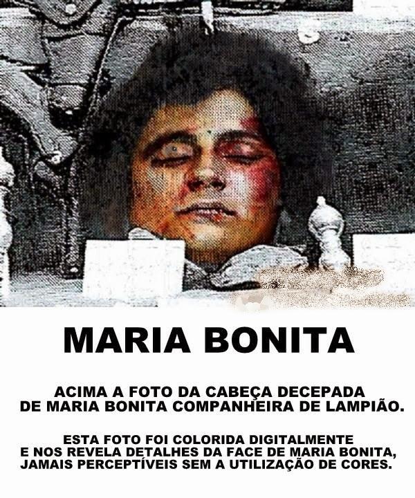 Blog Professor Zezinho Foto Da Cabeca Decepada De Maria Bonita