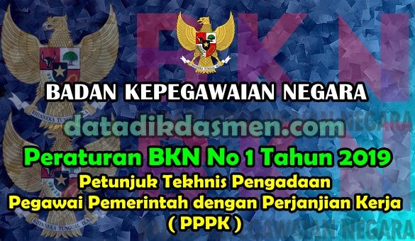 Unduh Juknis PPPK (P3K) Menurut Peraturan BKN Nomor  1 Tahun 2019
