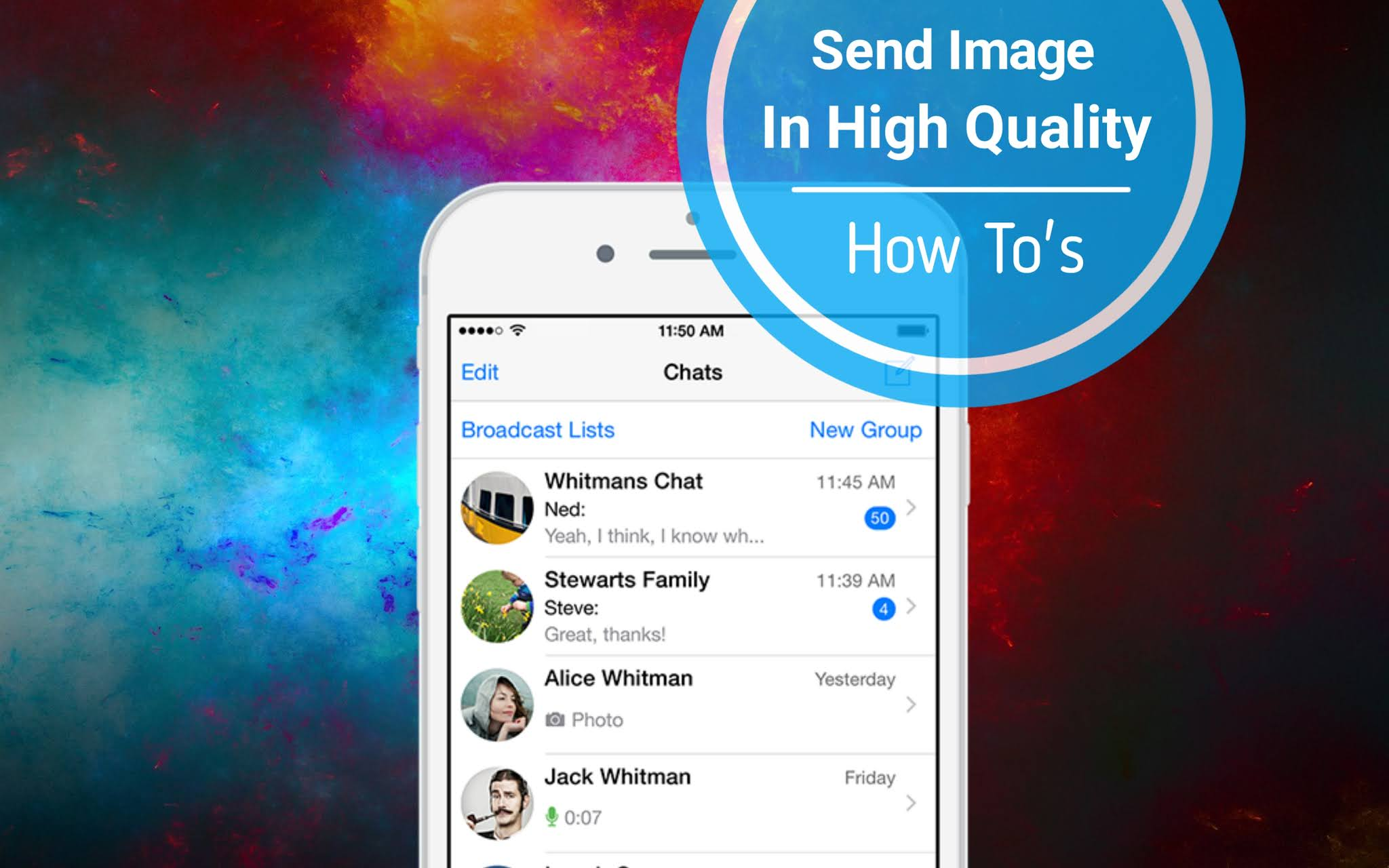 How To Send Image On WhatsApp Without Loosing It Original Quality