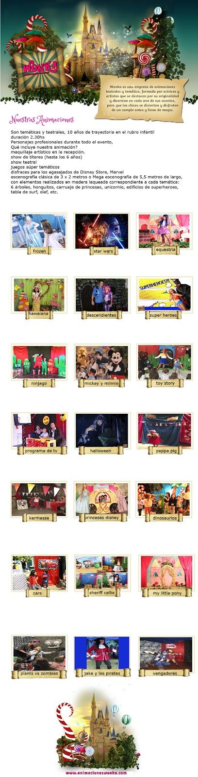 animaciones tematicas