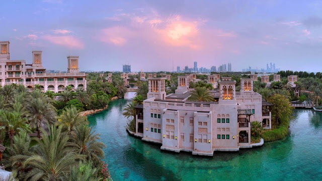 Set amongst tranquil gardens, waterways, exclusive pools and Madinat Jumeirah's private beach, the intimate and exquisite summerhouses of Jumeirah Dar Al Masyaf offer elegant and spacious guestrooms and courtyards, personalised and generous butler service and an understated Arabian luxury experience.