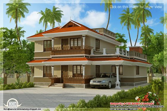 Kerala model home plan