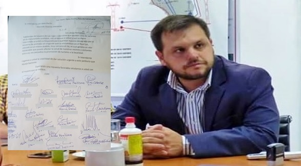 """Vecinos le piden al Intendente de Paclín que retire un """"Feedlot"""""""