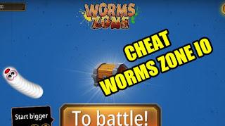 Cheat Kebal Worms Zone MOD APK Unlimited Coin & Money Terbaru