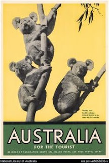 (poster) australia for the tourist