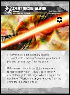 Intervene type: Secret Mission: Weapons