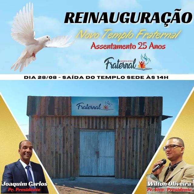 2ª Reinauguração Congregação Assentamento25