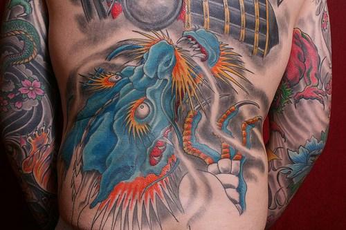 Korean Dragon Tattoo Meaning: Piercedfish Blog: Asia Tattoos #3