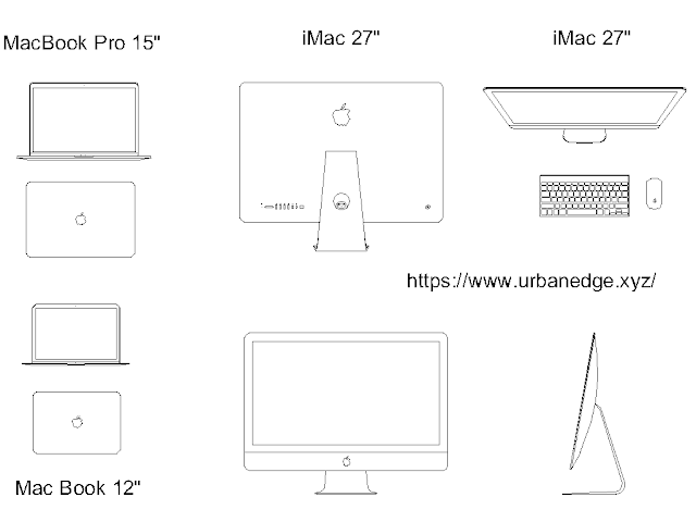 Apple Computers & Laptop cad block free download - 8+ free cad blocks