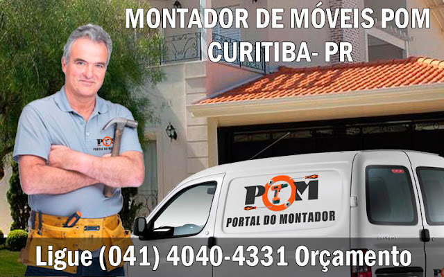Montagem de Móveis Curitiba PR (041) 4040-4331