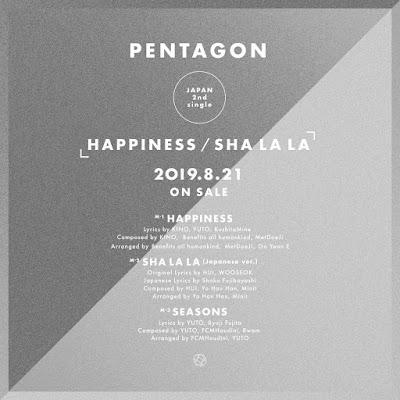 pentagon-comeback-japon-single-Happiness-shalala-tracklist