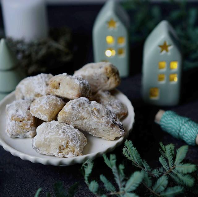 raisins secs , gingembre confit , indispensables de NoEL , stollen