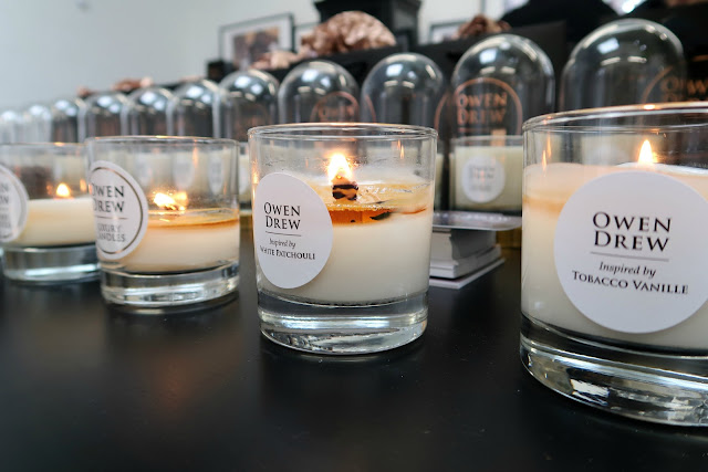 Danielle Levy, Owen Drew Luxury Candles, soy candles, vegan candles, owen drew flagship store, owen drew candles, owen drew shop launch