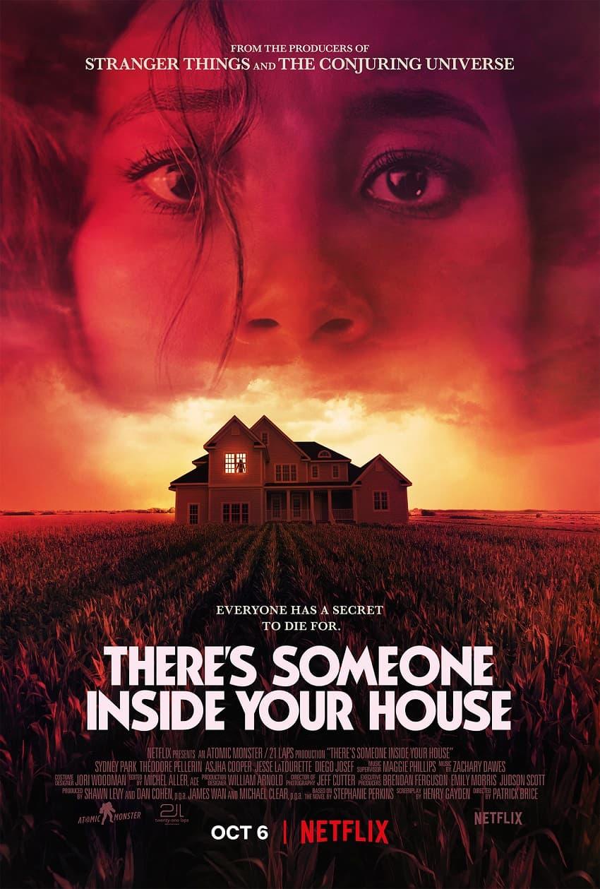 Netflix показал трейлер фильма ужасов «В твоём доме кто-то есть» по роману Стефани Перкинс - постер