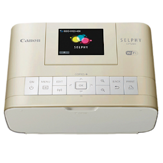 Canon SELPHY CP1200 Gold Driver Download