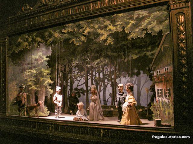 Marionetes no museu do Hohensalzburg, Salzburgo