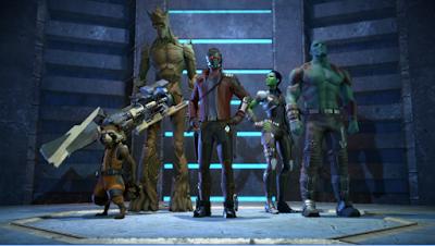 Guardians of the Galaxy TTG Mod Apk