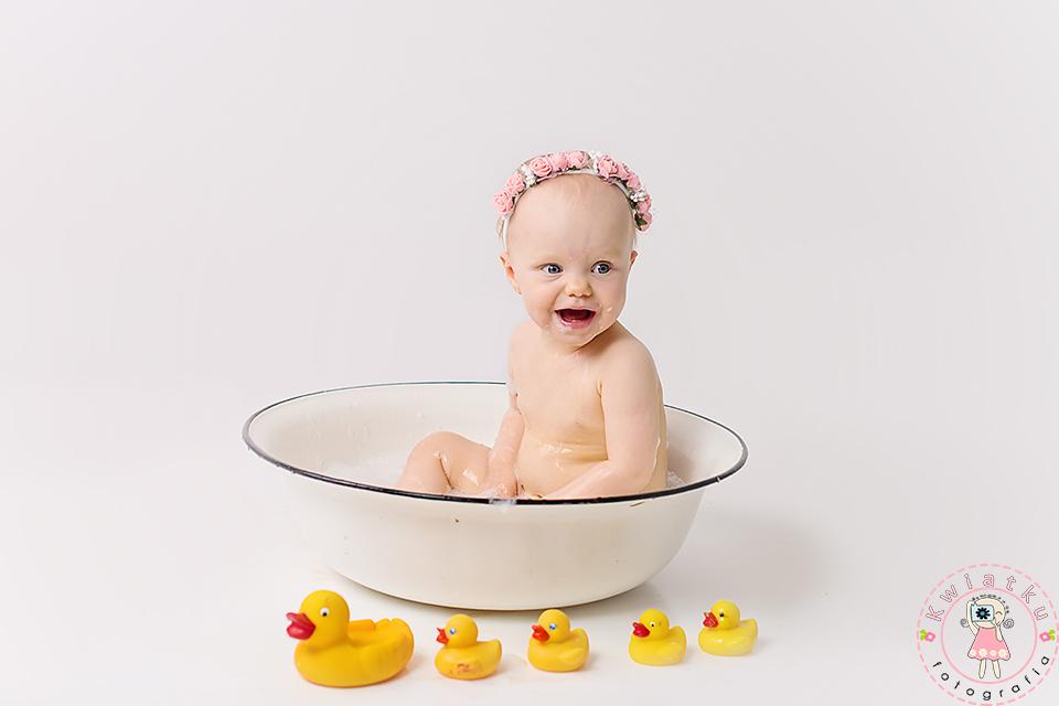 Kąpiel z kaczuszkami