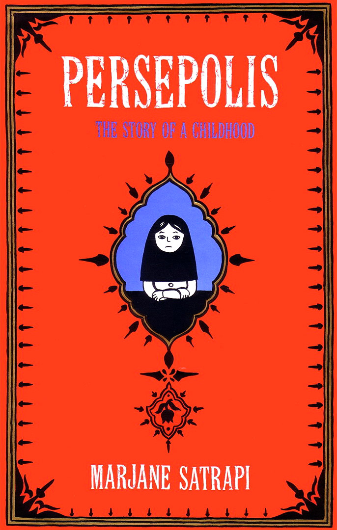 Cover page of Marjane Satrapi's Persepolis 1 - The Story of a Childhood