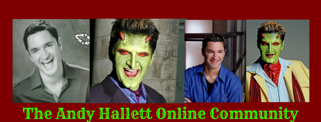 Join The Andy Hallett Online Community