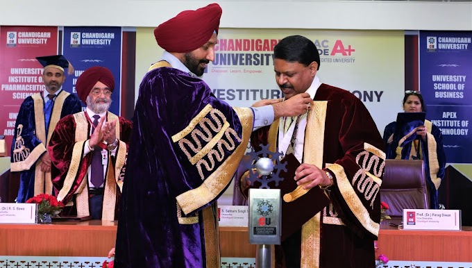 Dr. Parag Diwan joins as 2nd Vice-Chancellor of Chandigarh University