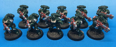 Dark Angels Hellblasters - front