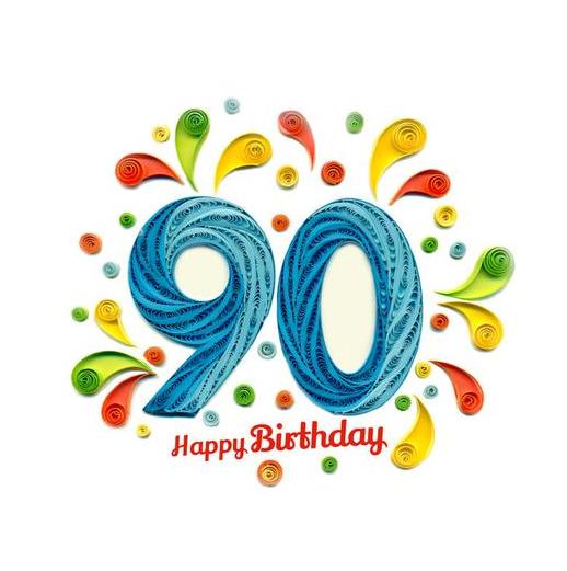 Geburtstagswünsche für 90 Jahre