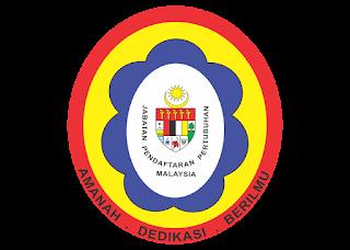 Jabatan Pendaftaran Pertubuhan Logo Vector