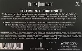 Black Radiance True Complexion Contour Palette
