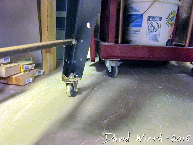 tools on wheels, basement tools