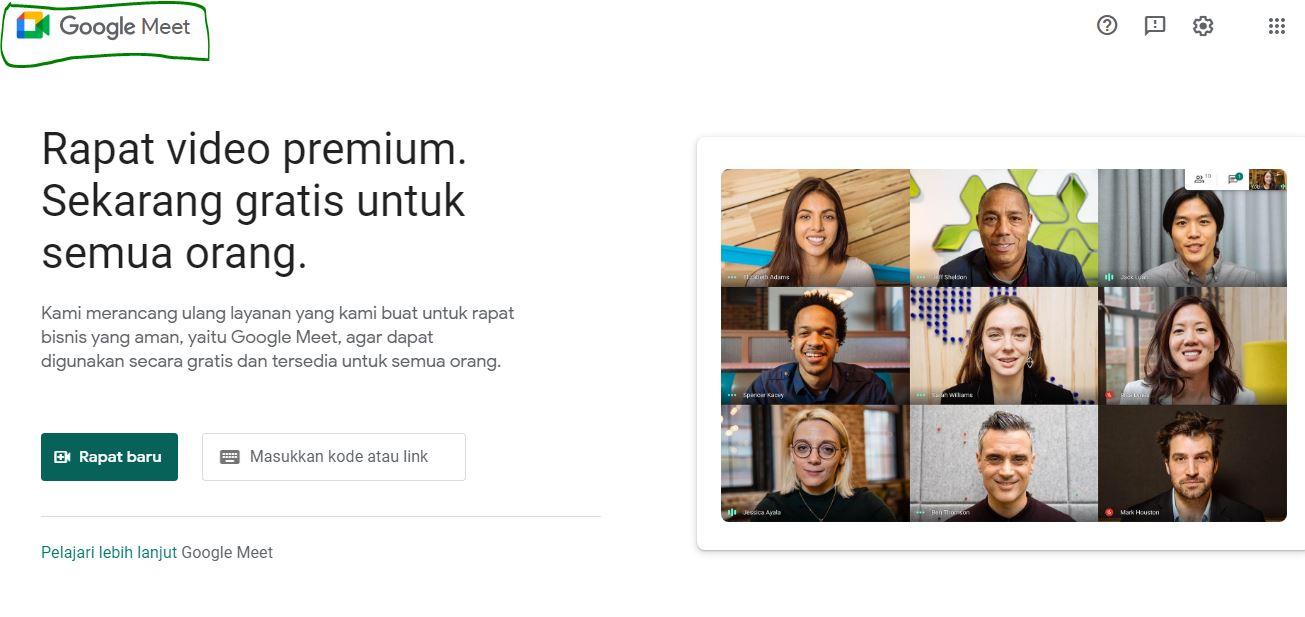 Cara Rapat Secara Online di Google Meet Pakai HP dan PC