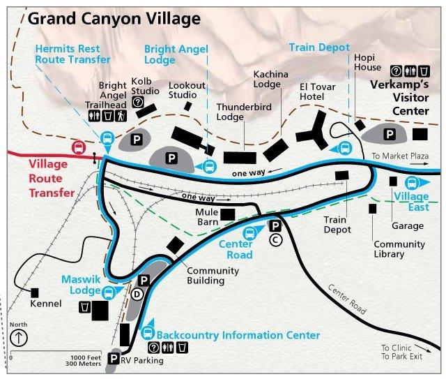 Grand Canyon Village Arizona