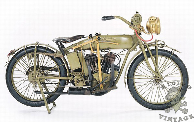 Harley Davidson Based Their Military Model On The J Series Motorcycle It Used A 61 Cubic Inch F Head Motor Which Produced 15 Horse