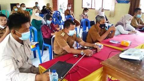 Pelatihan Pencegahan dan Mitigasi Peningkatan PPKM Mikro di Silungkang