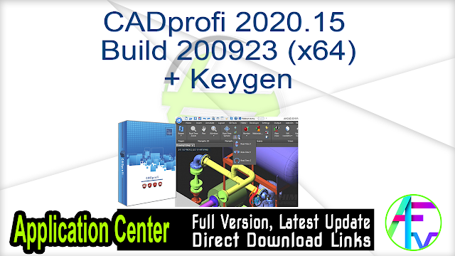 CADprofi 2020.15 Build 200923 (x64) + Keygen