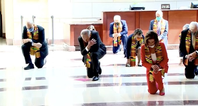 Democrats, led by group of black lawmakers wear Kente to combat racism & police brutatilty
