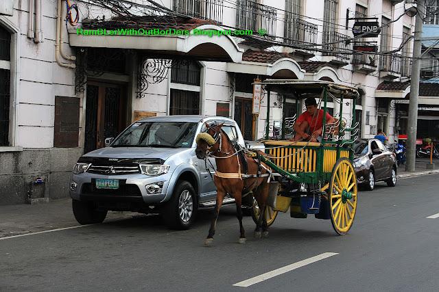 horse ride, Intramuros, Manila, Philippines