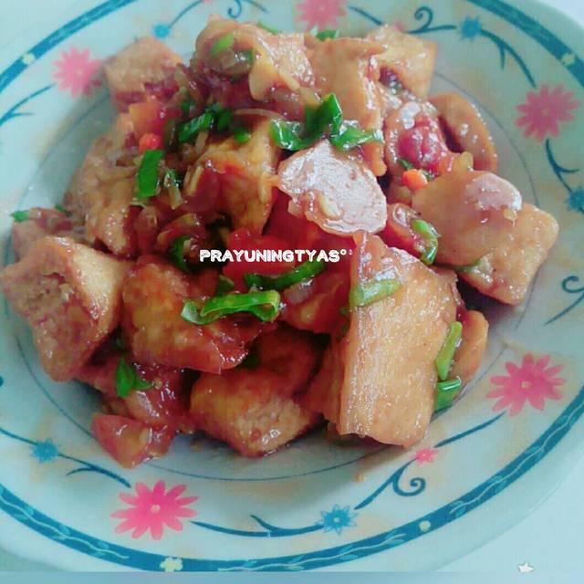 Resep bakso tahu saus tiram ala rumah makan ciwidey